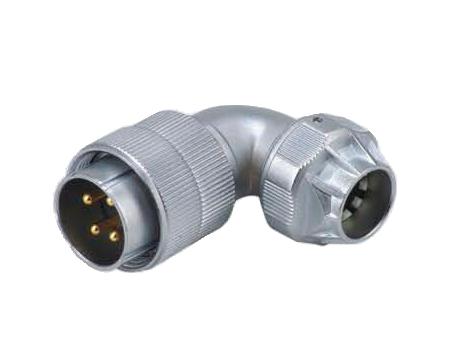 Розетка кабельная угловая Weipu WF20K2TU1